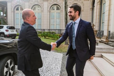 Onyx promete encontro entre Leite e Bolsonaro para tratar das obras de BR-116