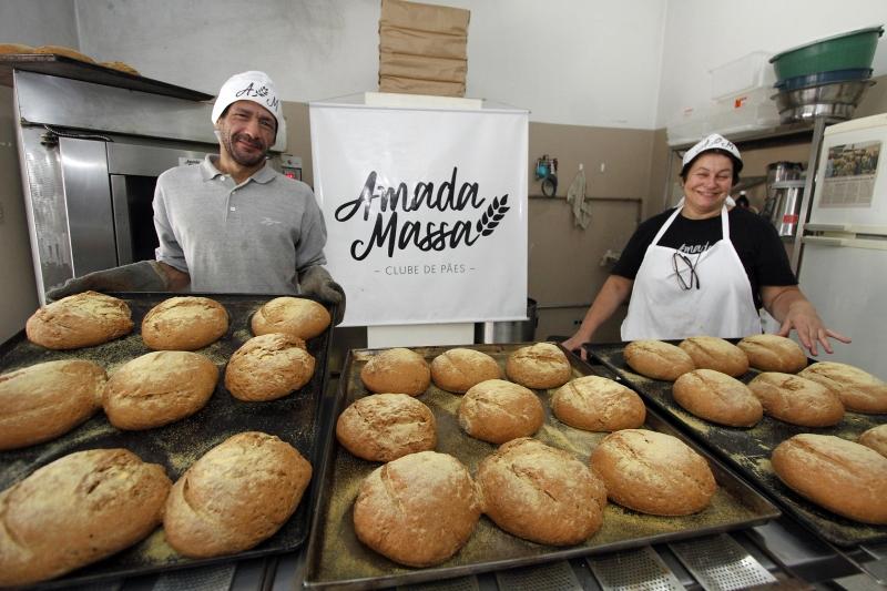 Corrêa virou padeiro graças ao projeto que teve Madalena como umas das primeiras voluntárias