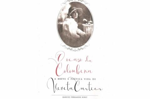 Marcos Fernando Kirst conta a vida e obra de Vivita Cartier em novo livro