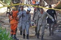 Chega a 18 número de mortos no desabamento no Rio de Janeiro