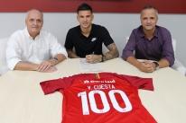 Inter acerta renovação de contrato de Victor Cuesta até 2022
