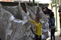 Projeto para reciclagem de plástico é lançado em escola