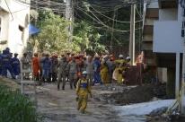 Sobe para 11 o número de mortos em desabamento de prédios no Rio de Janeiro