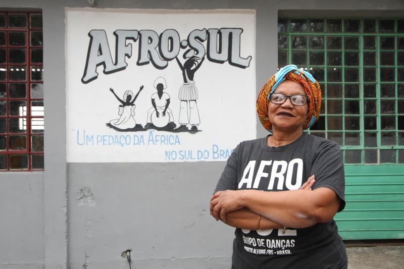 Curso ministrado em abril sobre dança afro no RS levou nome da mulher à frente do Afro-Sul Odomodê