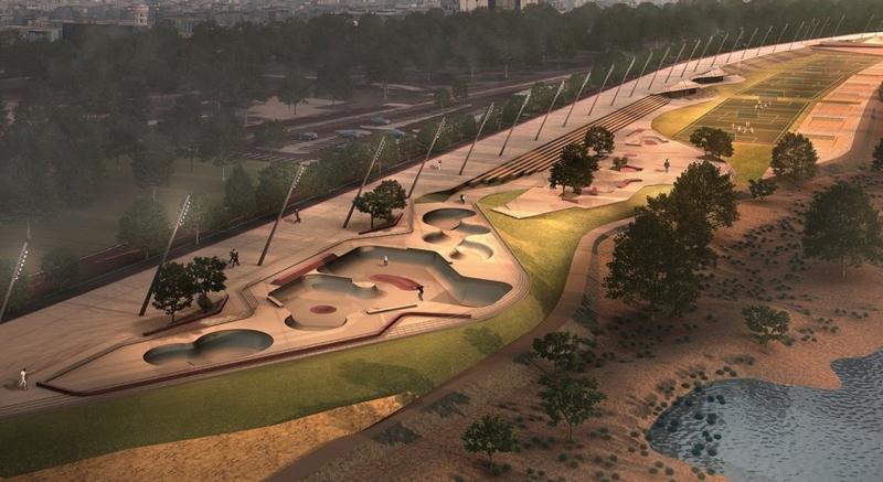 Trecho 3 abrange 14,6 hectares ao longo da Orla e está dentro do projeto do arquiteto Jaime Lerner