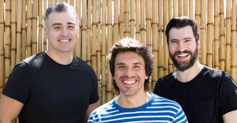 Cauduro, Baldini e Ritter, sócios da W3Haus, iniciaram o negócio há 20 anos em Porto Alegre