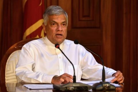 Primeiro-ministro do Sri Lanka diz que prioridade é deter terroristas