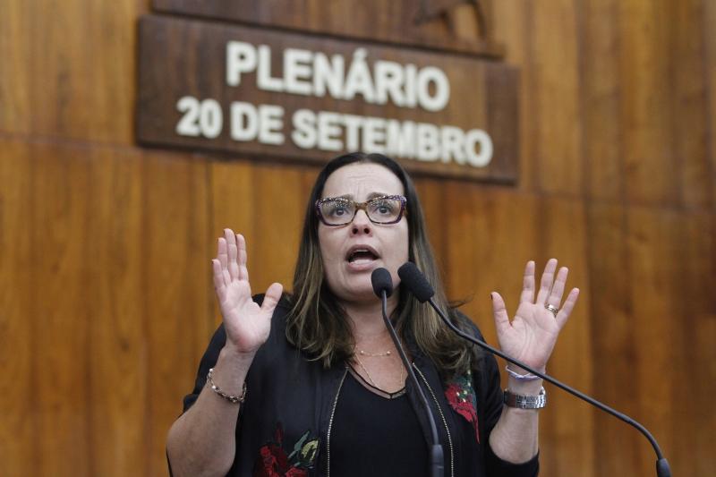 Juliana Brizola (PDT) aprovou audiência pública para analisar a PEC da retirada do plebiscito da privatização do Banrisul, Corsan e Procergs