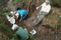 Pesquisadores da UFSM encontram fóssil de Preguiça-Gigante em Caçapava do Sul