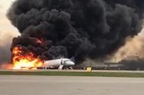 Aterrissagem de avião em chamas deixa 41 mortos em Moscou