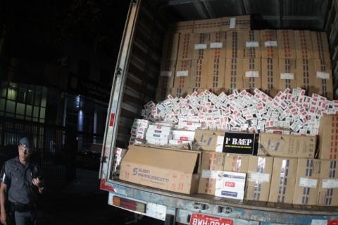 Contrabando de cigarros movimenta R$ 818 milhões em 2019