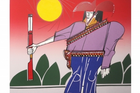 Galeria Bublitz apresenta exposição com obras Ademar Martins neste sábado