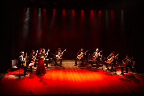 Camerata Violões de Porto se apresenta na série Concertos Clube do Comércio