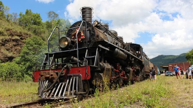 Com duas viagens por dia, locomotiva poderia atrair 900 passageiros