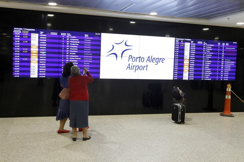 Voos do exterior estão suspensos desde maio, limitando receitas com taxas e operação de lojas
