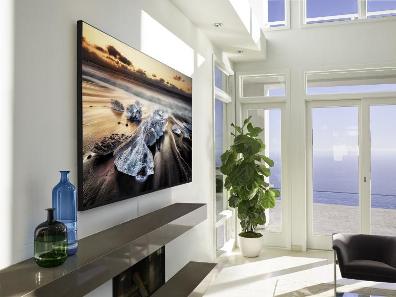 Tecnologia de 8K conta com 33 milhões de pixels e tecnologia de para conversão de conteúdo