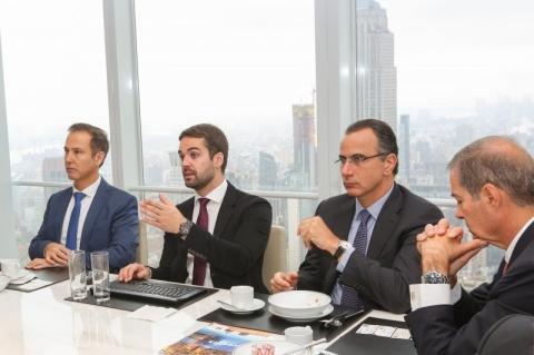 Leite se reúne com diretoria do Bank of America nos EUA