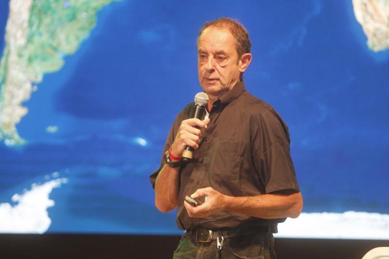 Amyr Klink esteve em Porto Alegre a convite da Unimed/RS