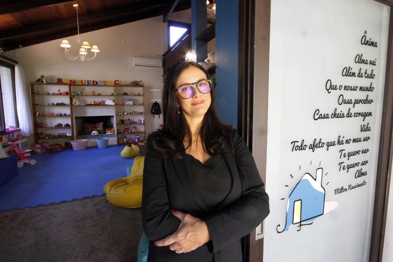 A educadora Annalu Souza está por trás do negócio