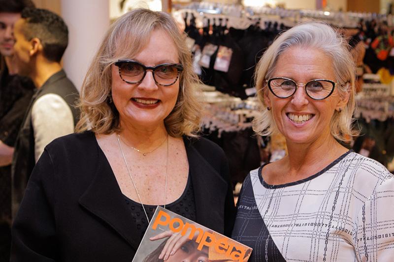 Movimento foto 1 Carmen Ferrão e Silvia Rachewsky Lemos na Pompéia do Shopping Total