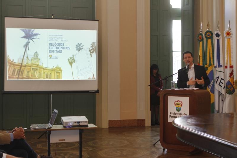 Segundo Marchezan, conceito adotado nos equipamentos será replicado em outros mobiliários urbanos