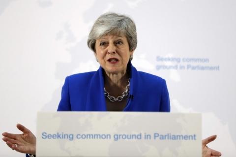Legislação sobre Brexit sai até sexta e quero votação na Câmara em junho, diz May