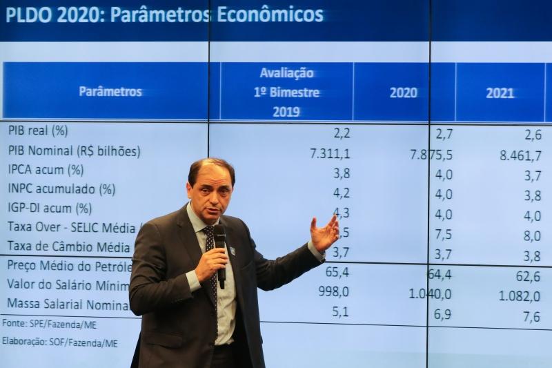 Informação foi adiantada  pelo secretário de Fazenda do Ministério da Economia, Waldery Rodrigues Junior.