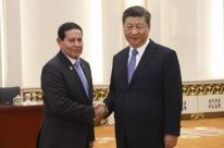Mourão adota abordagem pragmática em visita à China