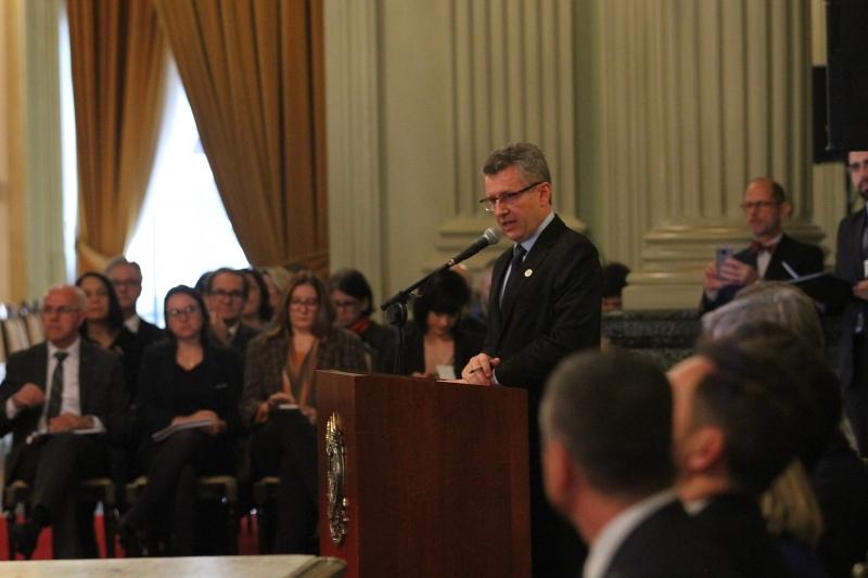 Dellagostin diz que inovação vai ajudar Estado a superar crise econômica