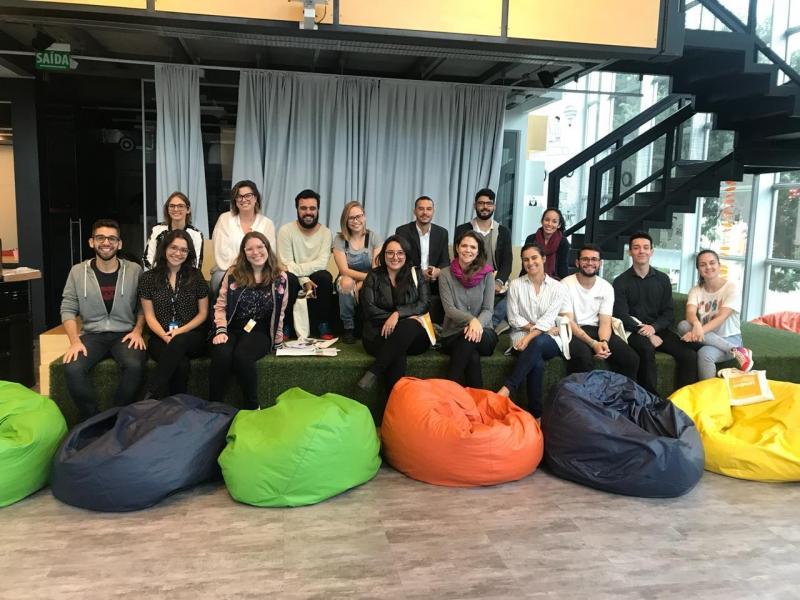 Grupo de jornalistas e comunicadores desenvolveu ideias com a mentoria de especialistas no Crialab