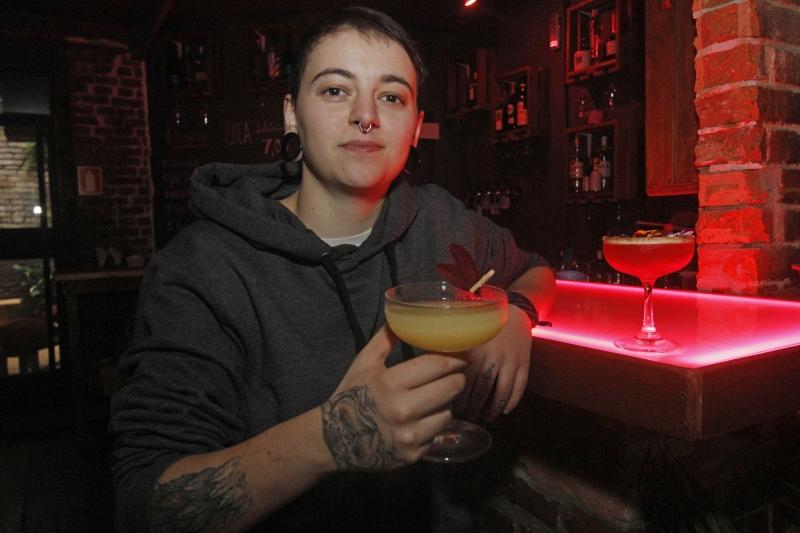 Pamela trouxe a experiência de outros bares para o seu negócio