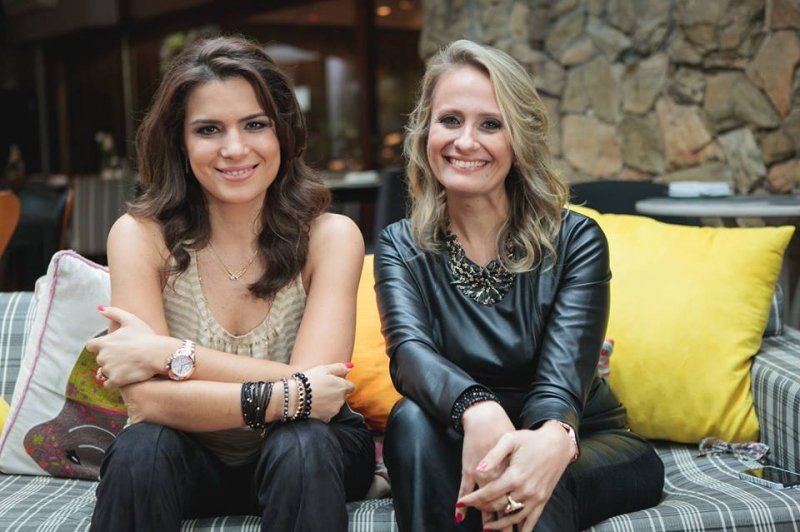 Natália e Soraia acreditam na experiência como diferencial de seus cursos