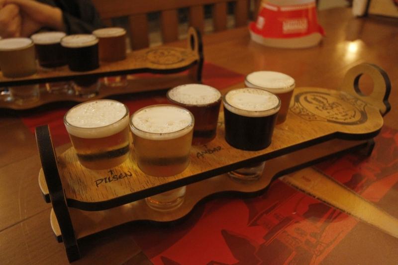 Passeio na Cervejaria Rasen em Gramado.