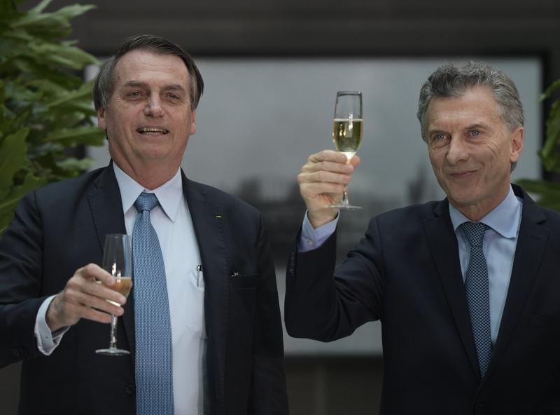 Bolsonaro se reuniu com Macri nesta quinta-feira em Buenos Aires