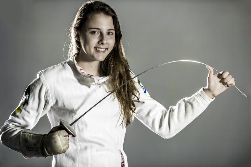 Gabriela Cecchini, esgrimista do GNU