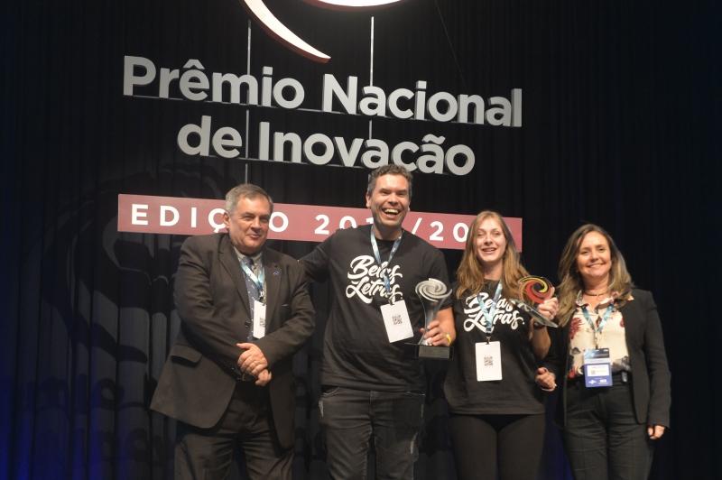 Empresa levou o troféu na categoria Marketing durante o Congresso Brasileiro de Inovação na Indústria