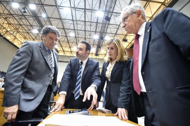 Cassiá, Gomes, Mônica e Nedel integram a bancada do PP na Câmara