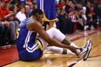 Fora das finais da NBA, Durant revela que passou por cirurgia nesta quarta