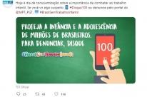 Trabalho infantil ainda é preocupante no Brasil, diz fórum