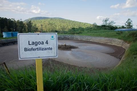 Resíduos industriais e do agronegócio viram adubo de orgânicos