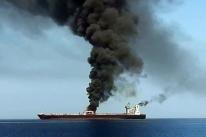 Petróleo se mantém em forte alta com suposto ataque a dois navios no Golfo de Omã