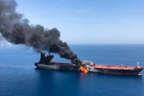 Navios petroleiros são alvo de suposto ataque no Golfo de Omã