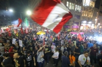Manifestação contra reforma da Previdência encerra greve geral em Porto Alegre