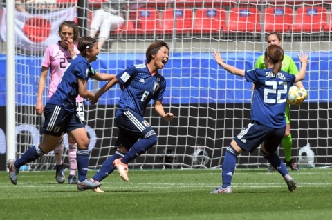 Japão vence Escócia e se aproxima de classificação