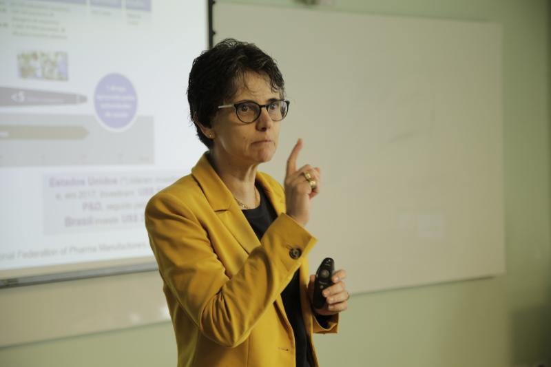 Apesar das limitações financeiras, Greyce diz que profissionais brasileiros fazem um bom trabalho