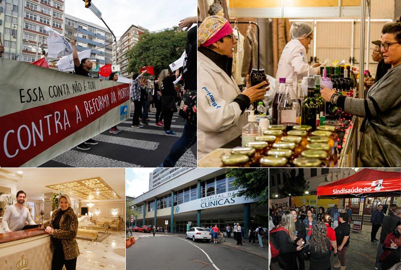 Greve geral, hotel inspirado na França, seleção no HCPA e Fenadoce lideram as mais lidas da semana