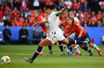 Suécia e Estados Unidos vencem fácil e vão às oitavas do Mundial Feminino