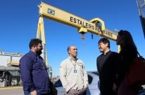 Estaleiro Rio Grande recebe visita de empresas