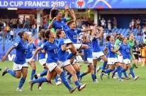 Itália derrota a China por 2 a 0 e se classifica às quartas do Mundial Feminino