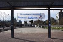 Uruguai tem greve em apoio a trabalhadores do setor de gás
